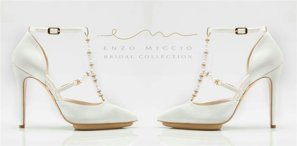 in vendita colori e suggestivi negozio del Regno Unito wedding - Enzo Miccio e la Bridal Luxury Shoes Collection ...